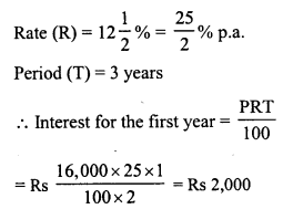 RD Sharma Class 8 Solutions Chapter 14 Compound InterestEx 14.1 15