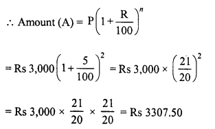 RD Sharma Class 8 Solutions Chapter 14 Compound InterestEx 14.2 1