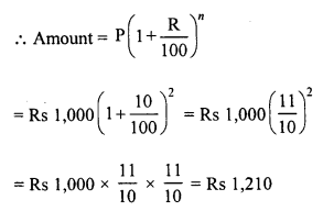 RD Sharma Class 8 Solutions Chapter 14 Compound InterestEx 14.2 10