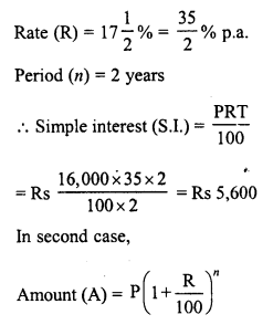 RD Sharma Class 8 Solutions Chapter 14 Compound InterestEx 14.2 12