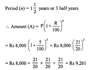 RD Sharma Class 8 Solutions Chapter 14 Compound InterestEx 14.2 15