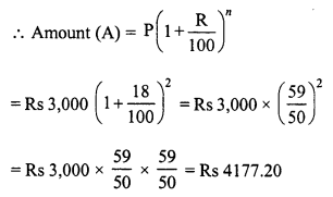 RD Sharma Class 8 Solutions Chapter 14 Compound InterestEx 14.2 2