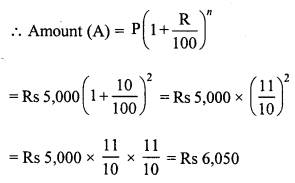 RD Sharma Class 8 Solutions Chapter 14 Compound InterestEx 14.2 3
