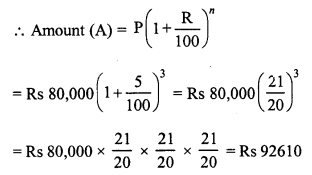RD Sharma Class 8 Solutions Chapter 14 Compound InterestEx 14.2 31