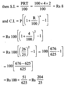 RD Sharma Class 8 Solutions Chapter 14 Compound InterestEx 14.3 15