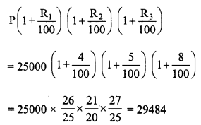 RD Sharma Class 8 Solutions Chapter 14 Compound InterestEx 14.4 4