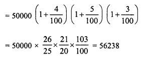 RD Sharma Class 8 Solutions Chapter 14 Compound InterestEx 14.4 5