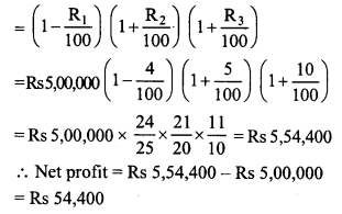 RD Sharma Class 8 Solutions Chapter 14 Compound InterestEx 14.5 10