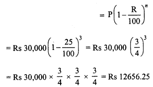 RD Sharma Class 8 Solutions Chapter 14 Compound InterestEx 14.5 5