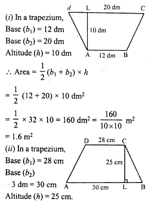 RD Sharma Class 8 Solutions Chapter 20 Mensuration I Ex 20.2 1