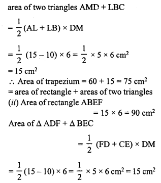 RD Sharma Class 8 Solutions Chapter 20 Mensuration I Ex 20.2 11