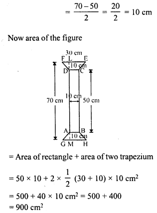 RD Sharma Class 8 Solutions Chapter 20 Mensuration I Ex 20.2 14