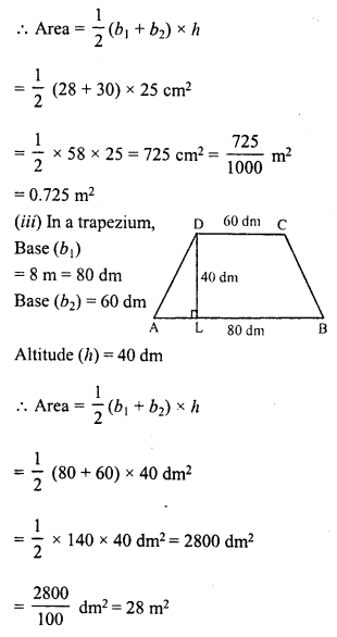 RD Sharma Class 8 Solutions Chapter 20 Mensuration I Ex 20.2 2