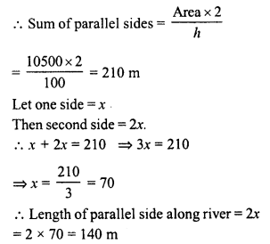 RD Sharma Class 8 Solutions Chapter 20 Mensuration I Ex 20.2 21