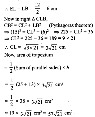 RD Sharma Class 8 Solutions Chapter 20 Mensuration I Ex 20.2 25