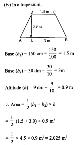 RD Sharma Class 8 Solutions Chapter 20 Mensuration I Ex 20.2 3