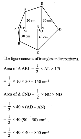 RD Sharma Class 8 Solutions Chapter 20 Mensuration I Ex 20.3 14