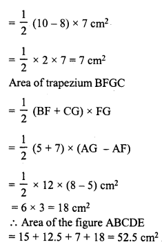 RD Sharma Class 8 Solutions Chapter 20 Mensuration I Ex 20.3 4