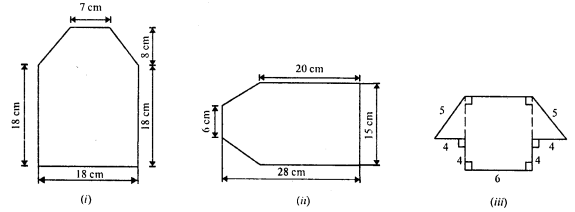 RD Sharma Class 8 Solutions Chapter 20 Mensuration I Ex 20.3 5