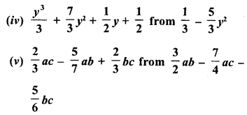 RD Sharma Class 8 Solutions Chapter 6 Algebraic Expressions and IdentitiesEx 6.2 13