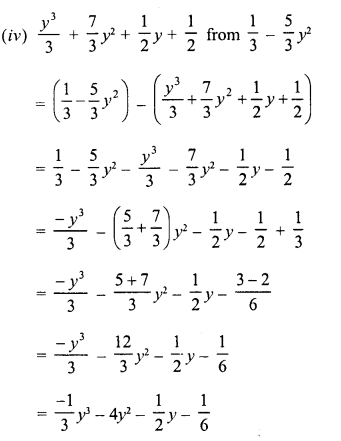 RD Sharma Class 8 Solutions Chapter 6 Algebraic Expressions and IdentitiesEx 6.2 17