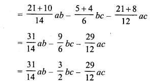 RD Sharma Class 8 Solutions Chapter 6 Algebraic Expressions and IdentitiesEx 6.2 19