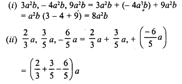 RD Sharma Class 8 Solutions Chapter 6 Algebraic Expressions and IdentitiesEx 6.2 3