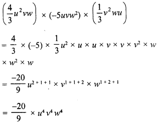 RD Sharma Class 8 Solutions Chapter 6 Algebraic Expressions and IdentitiesEx 6.3 17