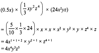 RD Sharma Class 8 Solutions Chapter 6 Algebraic Expressions and IdentitiesEx 6.3 19