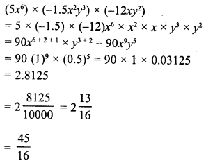 RD Sharma Class 8 Solutions Chapter 6 Algebraic Expressions and IdentitiesEx 6.3 27
