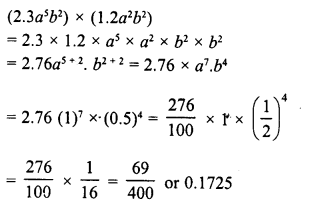 RD Sharma Class 8 Solutions Chapter 6 Algebraic Expressions and IdentitiesEx 6.3 28
