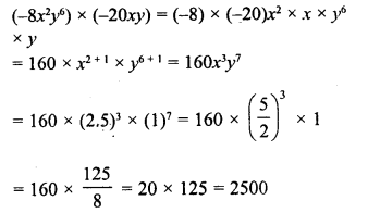 RD Sharma Class 8 Solutions Chapter 6 Algebraic Expressions and IdentitiesEx 6.3 29