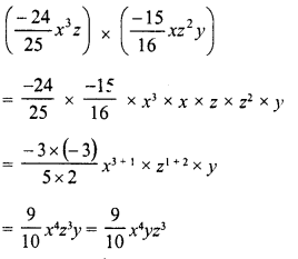 RD Sharma Class 8 Solutions Chapter 6 Algebraic Expressions and IdentitiesEx 6.3 3