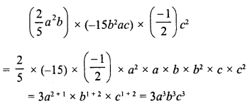 RD Sharma Class 8 Solutions Chapter 6 Algebraic Expressions and IdentitiesEx 6.3 34