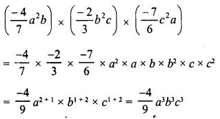 RD Sharma Class 8 Solutions Chapter 6 Algebraic Expressions and IdentitiesEx 6.3 36