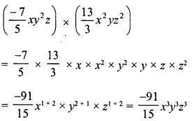 RD Sharma Class 8 Solutions Chapter 6 Algebraic Expressions and IdentitiesEx 6.3 5