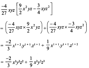 RD Sharma Class 8 Solutions Chapter 6 Algebraic Expressions and IdentitiesEx 6.4 7
