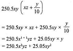 RD Sharma Class 8 Solutions Chapter 6 Algebraic Expressions and IdentitiesEx 6.4 9