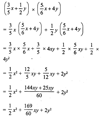 RD Sharma Class 8 Solutions Chapter 6 Algebraic Expressions and IdentitiesEx 6.5 2