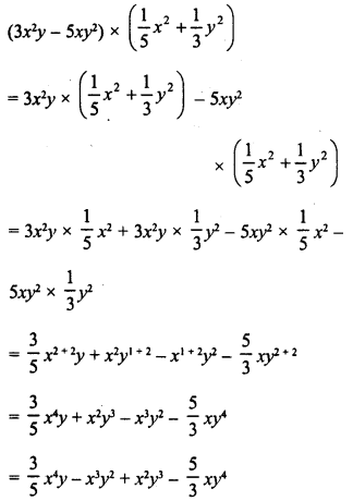 RD Sharma Class 8 Solutions Chapter 6 Algebraic Expressions and IdentitiesEx 6.5 8