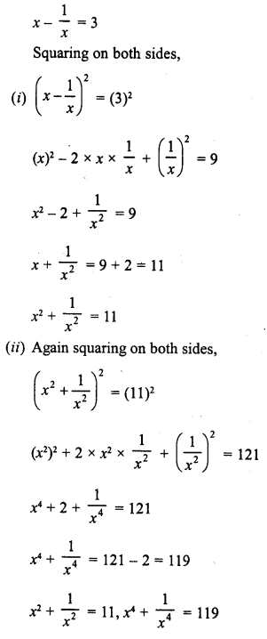 RD Sharma Class 8 Solutions Chapter 6 Algebraic Expressions and IdentitiesEx 6.6 13