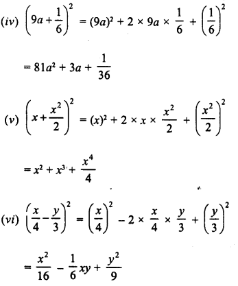 RD Sharma Class 8 Solutions Chapter 6 Algebraic Expressions and IdentitiesEx 6.6 2