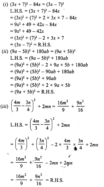 RD Sharma Class 8 Solutions Chapter 6 Algebraic Expressions and IdentitiesEx 6.6 21