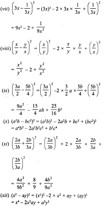RD Sharma Class 8 Solutions Chapter 6 Algebraic Expressions and IdentitiesEx 6.6 3