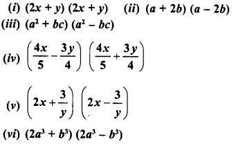 RD Sharma Class 8 Solutions Chapter 6 Algebraic Expressions and IdentitiesEx 6.6 4