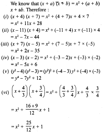 RD Sharma Class 8 Solutions Chapter 6 Algebraic Expressions and IdentitiesEx 6.7 2