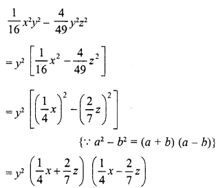 RD Sharma Class 8 Solutions Chapter 7 Factorizations Ex 7.5 5