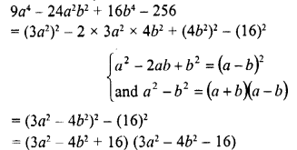 RD Sharma Class 8 Solutions Chapter 7 Factorizations Ex 7.6 1