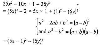 RD Sharma Class 8 Solutions Chapter 7 Factorizations Ex 7.6 10