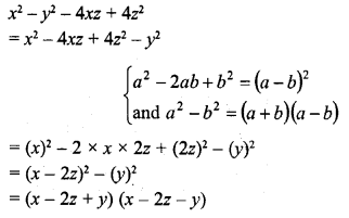 RD Sharma Class 8 Solutions Chapter 7 Factorizations Ex 7.6 17